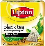 Lipton Pyramids, Black Pearl 20 ct