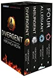 img - for Collection Set: Four, Divergent, Insurgent, Allegiant - 4 Books book / textbook / text book