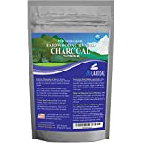 20 Ounces Activated Charcoal Powder only from USA Hardwood Trees. All Natural. Whitens Teeth, Rejuvenates Skin and Hair, Detoxifies, Helps with Digestion, Treats Poisoning. Free Scoop Included.