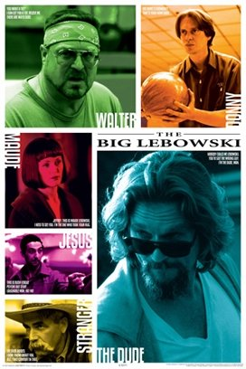The Big Lebowski Movie Quotes Poster Print - 24x36