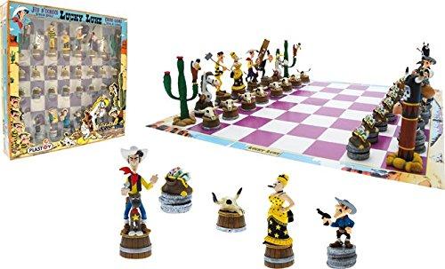 PLA69001 - Lucky Luke - Schachspiel - Lucky Luke, Brettspiel