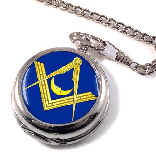 Masonic Lodge Junior Deacon Full Hunter Pocket Watch