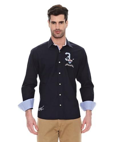 Signore dei Mari Camicia Uomo Enea [Blu Navy]
