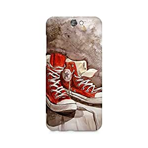 Mobicture Shoes Premium Printed Case For HTC One A9