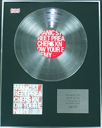 MANIC STREET PREACHERS Edtn Ltd-Platinum-CD-KNOW YOUR ENEMY