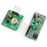 433Mhz RF Wireless Transmitter + Receiver Link Kit Modul for Arduino