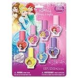 Disney Princess - 7 Pack Multicolor Nail Polish Set