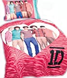 One Direction (1d) Reversible Pillow Case and Throw Set