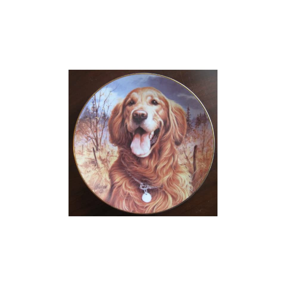 """""""Golden Retriever"""" Collectible Plate by Jim Killen  Other Products"""
