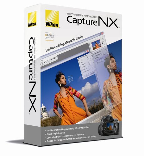 Nikon Capture NX - Complete package - 1 user - CD - Win, Mac