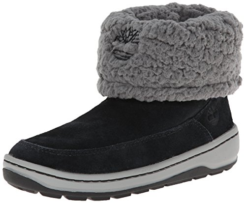 Timberland Winterfest Mid Boot ,Black/Grey,4 M US Big Kid