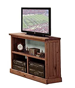 Chelsea home furniture 31700 tv stand mahogany stain home entertainment centers Home theater furniture amazon