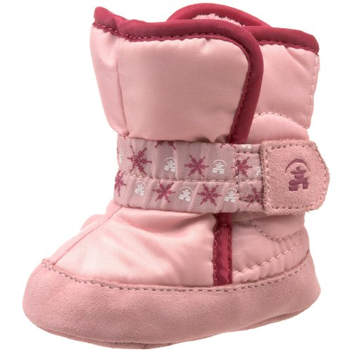 Kamik Snowpup Cold Weather Boot (Infant),Light Pink,Small