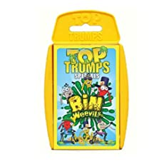 TOP TRUMPS - BIN WEEVILS BRAND NEW
