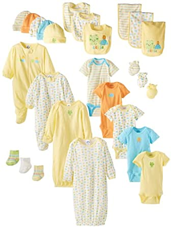 Amazon.com: Gerber Unisex-Baby Newborn Unisex 26 Piece ...