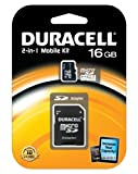 Duracell 16GB MicroSD Class 4 with SD Adapter