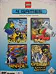 LEGO 4 PC GAMES : Creator / Football...