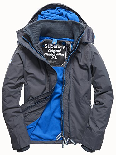 superdry zip hooded arctic pop windcheater preisvergleich. Black Bedroom Furniture Sets. Home Design Ideas