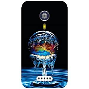 Micromax A 116 Phone Cover - Colorful Matte Finish Phone Cover