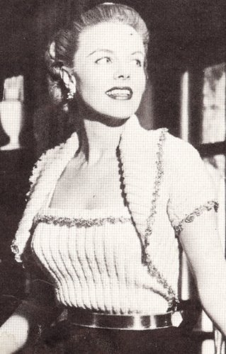 Vintage Knitting PATTERN to make - Bolero Shortie Jacket Camisole. NOT a finished item. This is a pattern and/or instructions to make the item only.