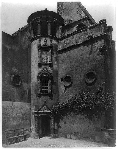 Photo: Bourges,Escalier de l'Hotel Lallemand,Entrance to hotel,Bourges,France,1900-1910 (Hotel A Bourges compare prices)
