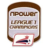 2011 FL npower League 1 Champions Patch - pair