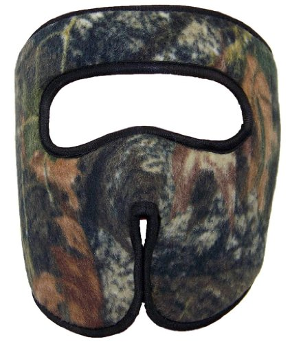 BWH Thick Fleece Real Tree Camouflage Full Face Mask (One Size)