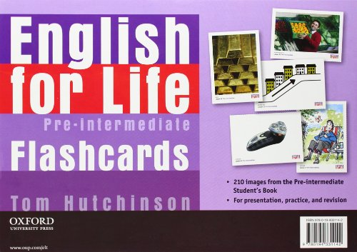 English for Life: Pre-intermediate: Flashcards