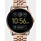 Fossil Q Wander Gen 2 Rose Gold-Tone Stainless Steel Touchscreen Smartwatch FTW2112 (Color: Rose Gold)