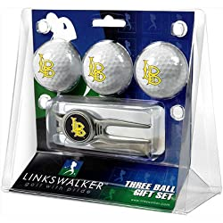 CS Long Beach 49ers NCAA 3 Ball Gift Pack w/ Kool Tool
