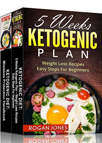 Ketogenic Diet Plan: 2-in-1 Box Set Ketogenic Diet Plan Books (Ketogenic Diet, Ketogenic Plan, Weight Loss, Weight Loss Diet,Beginners Guide) by Rogan Jones