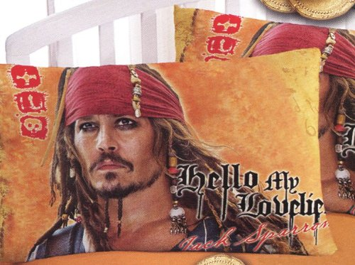 Disney Pirates of the Caribbean On Stranger Tides Pillowcase