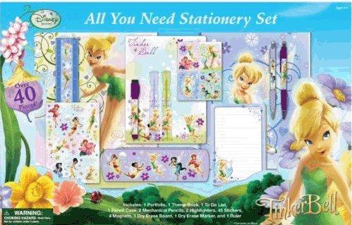 Fairies Tinker Bell 40 Piece Stationary