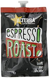 FLAVIA ALTERRA Coffee, Espresso Roast, 20-Count Fresh Packs (Pack of 5)