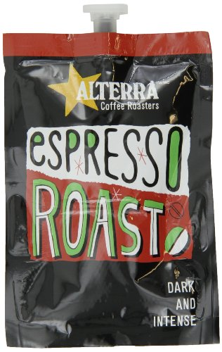 Flavia Alterra Coffee, Espresso Roast, 20-Count Fresh Packs (Pack Of 5)