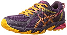ASICS Women\'s Gel-Sonoma 2 Running Shoe, Purple/Azalea/Apricot, 9 M US