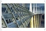 ミヨー橋12451のティンサイン 金属看板 ポスター / Tin Sign Metal Poster of Millau Viaduct 12451