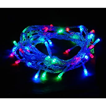 ABI 100-Count Color Changing LED Christmas Light for Outdoor / Indoor Decoration, 8-Modes (Multi-Color)