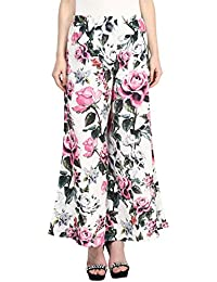 Floral Printed Palazzo With Pockets