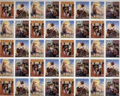 Childrens Classic Sheet of 40 x 29 cent US Postage Stamp Scot #2785-88