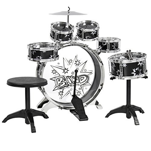 best-choice-products-11-piece-kids-drum-set-kids-toy-musical-instrument-w-bass-drum-tom-drums-cymbal