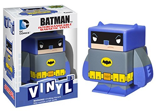 "Batman (Classic TV) ~1.6"": DC Universe x Funko Vinyl Cubed Interchangeable Magnetic Figure - 1"