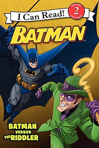 Batman Classic: Batman versus the Riddler (I Can Read Level 2) PDF