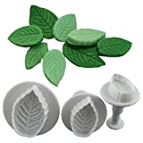 Futaba Leaf Shape Cutter Mold - 3 Pcs