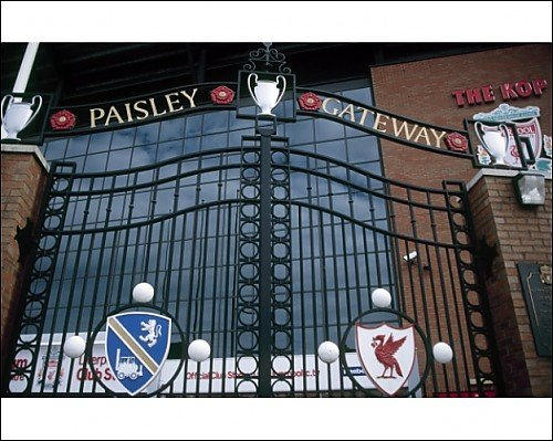 Photographic Print of The Paisley Gateway from Liverpool FC Pictures