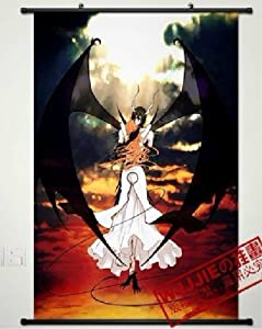 """Home Decor bleach ulquiorra Cosplay Anime Fabric Wall Scroll Poster 24'*35"""" CoSmile"""