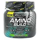 Muscletech Products - Amino Build Performance Series BCAA Formula Green Apple - 267 Grams