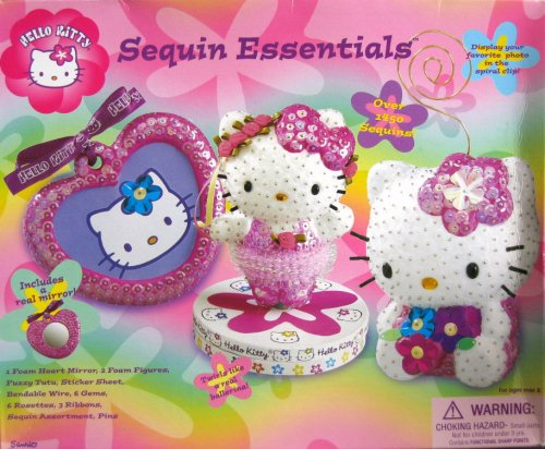 Hello Kitty Sequin Essentials Craft Kit - Buy Hello Kitty Sequin Essentials Craft Kit - Purchase Hello Kitty Sequin Essentials Craft Kit (Hello Kitty, Toys & Games,Categories,Arts & Crafts,Craft Kits)