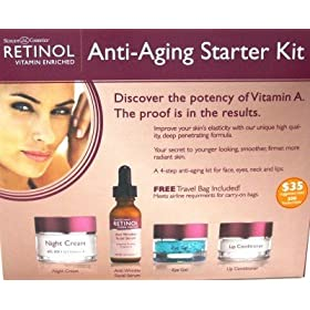 Skincare Retinol Anti-Aging Starter Kit