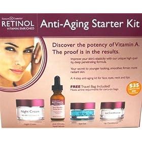 Skincare Retinol Anti-Aging Starter Kit